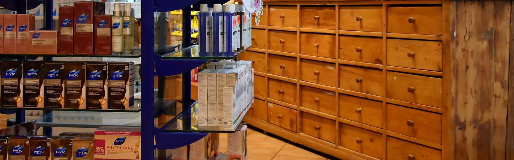 Pharmacie de Roches SA - Eaux-Vives - Genève - Produits naturels
